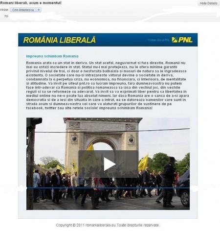 spam Crin Antonescu